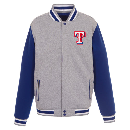 Texas Rangers Reversible Fleece Jacket