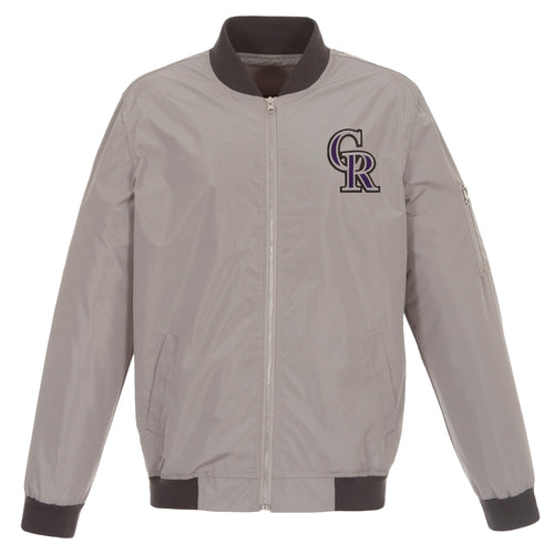 Colorado Rockies Nylon Bomber Jacket