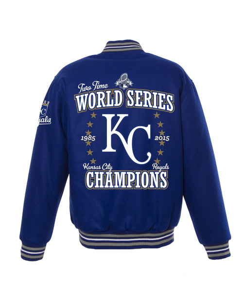 Kansas City Royals World Series Reversible Wool Jacket