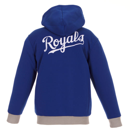 Kansas City Royals Kids Reversible Fleece Jacket