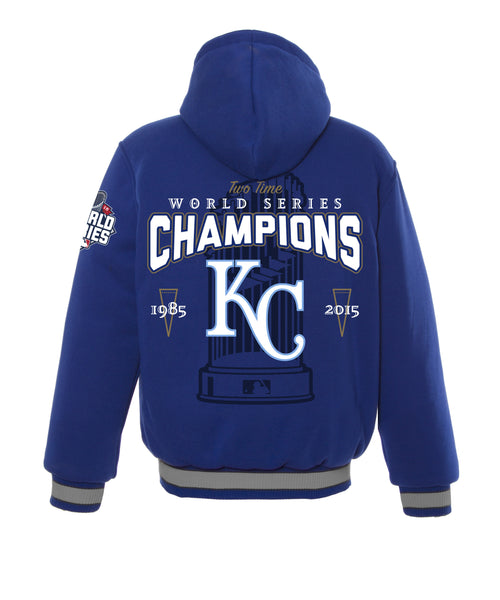Kansas City Royals Kid's World Series Reversible Wool Jacket