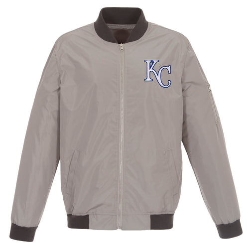 Kansas City Royals Nylon Bomber Jacket