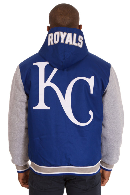 Kansas City Royals Reversible Poly-Twill Jacket