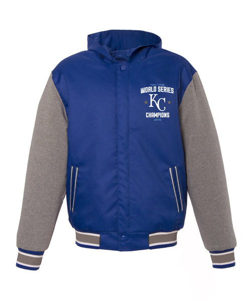 Kansas City Royals World Series Reversible Poly-Twill Jacket