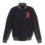 Boston Red Sox Reversible Wool Jacket