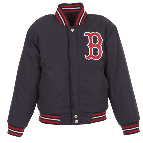 Boston Red Sox Kid's Reversible Wool Jacket