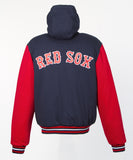 Boston Red Sox Kid's Reversible Fleece Jacket