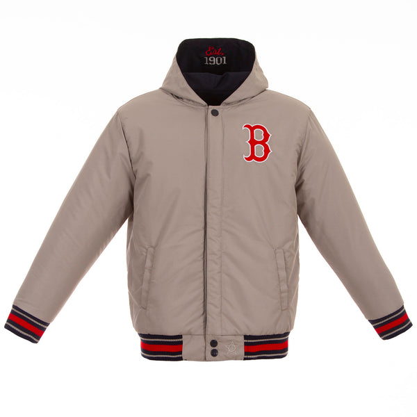 Boston Red Sox Kid's Reversible Poly-Twill Jacket