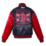 Boston Red Sox Kid's World Series Matte Satin Jacket