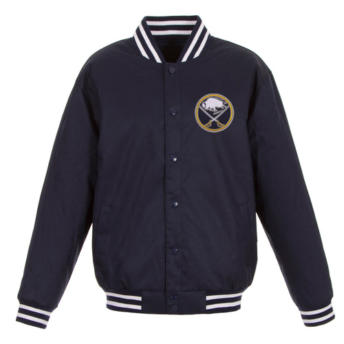 Buffalo Sabres Poly-Twill Jacket (Front Logo Only)