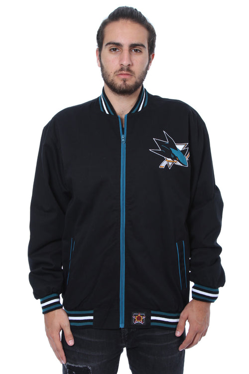 San Jose Sharks Twill Jacket