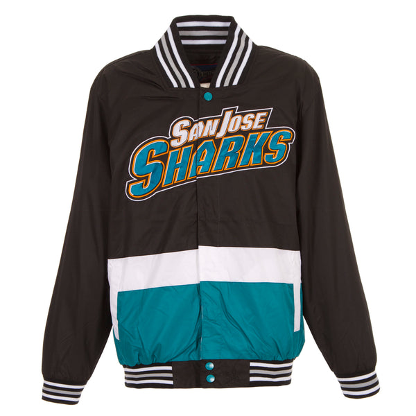 San Jose Sharks Ripstop Nylon Jacket