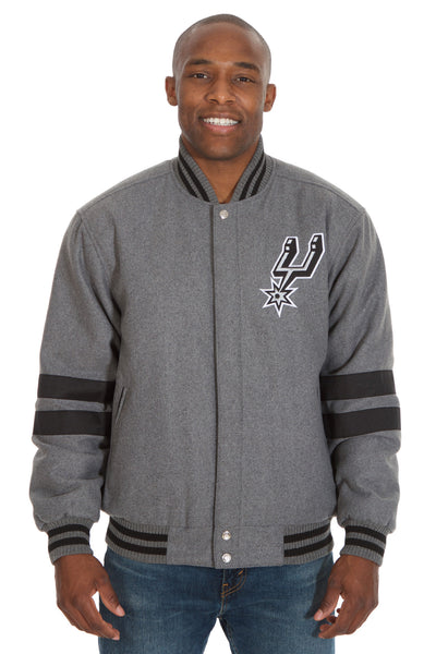 San Antonio Spurs Reversible Wool Jacket