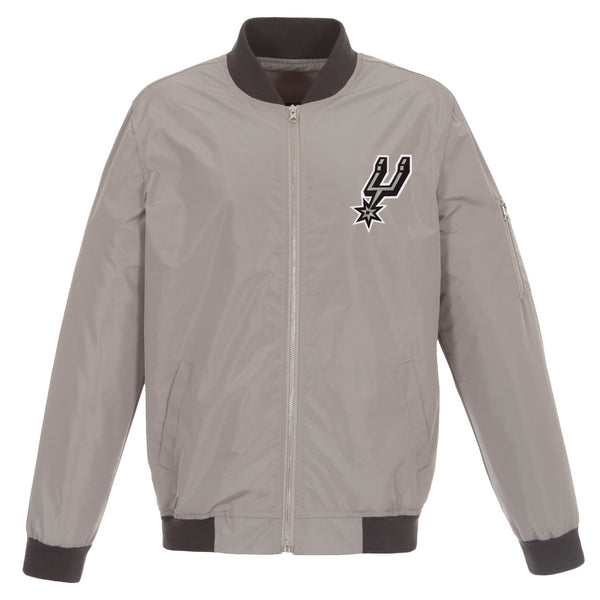 San Antonio Spurs Nylon Bomber Jacket