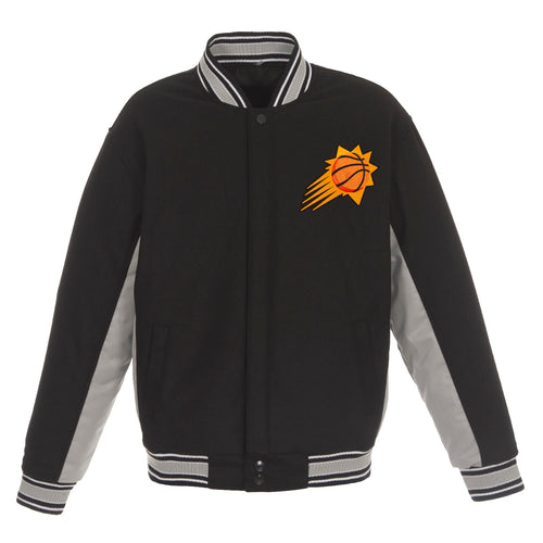 Phoenix Suns Reversible Wool Jacket (Front Logos Only)