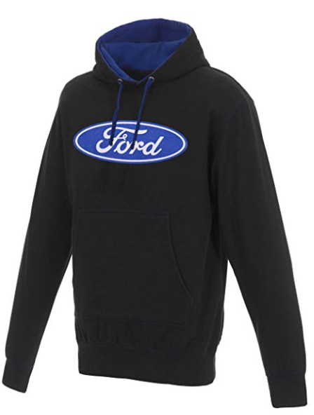 Ford Two-Tone Pull-Over Hooded Sweatshirt