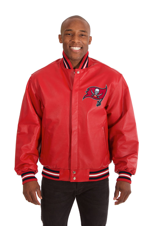 Tampa Bay Buccaneers Full Leather Jacket