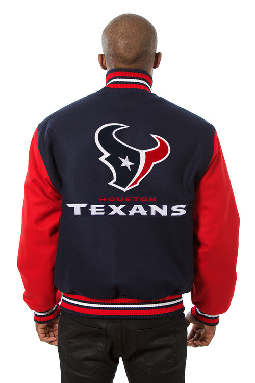 Houston Texans Embroidered Wool Jacket