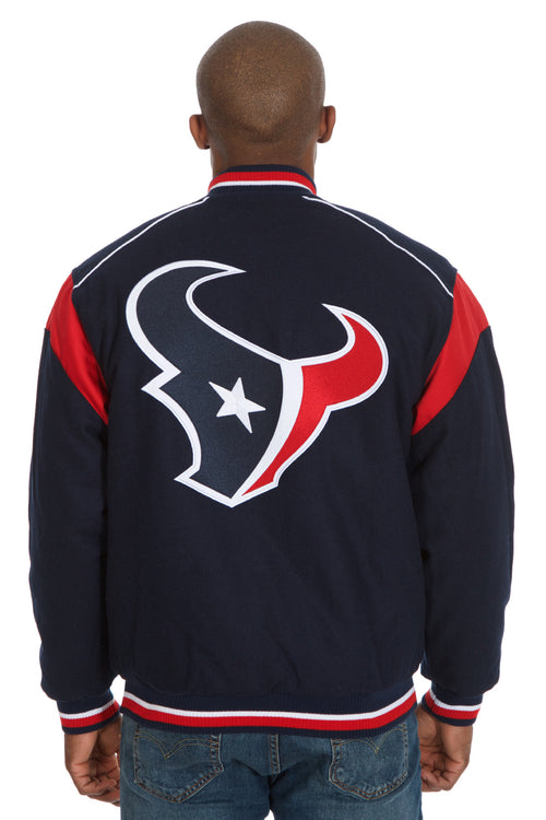 Houston Texans Reversible Wool Jacket
