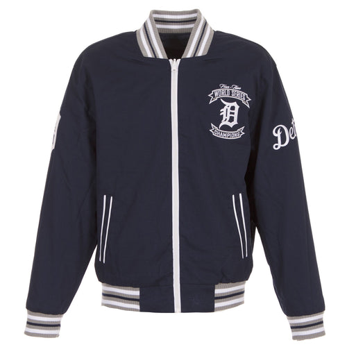 Detroit Tigers Reversible Lightweight Twill Jacket