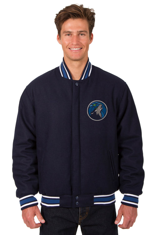 Minnesota Timberwolves Reversible All-Wool Jacket
