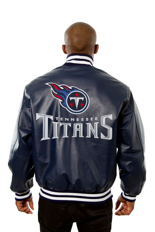 Tennessee Titans Full Leather Jacket