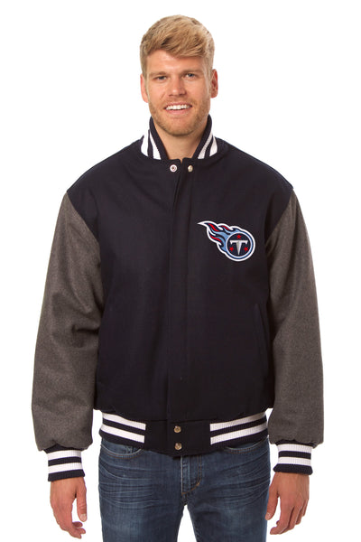 Tennessee Titans Embroidered Wool Jacket