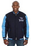 Tennessee Titans Reversible Wool Jacket