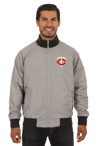 Minnesota Twins Reversible Polyester Track Jacket