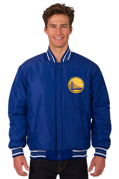 Golden State Warriors Reversible All-Wool Jacket