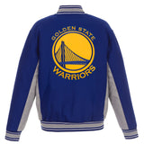 Golden State Warriors Reversible Wool Jacket