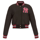 New York Yankees Kid's Reversible Wool Jacket