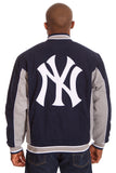 New York Yankees Reversible Twill Jacket