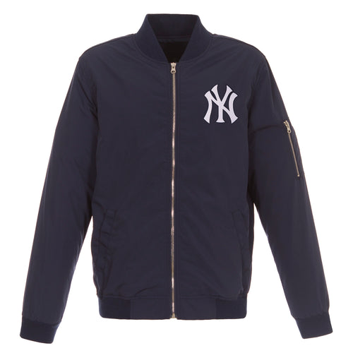 New York Yankees Nylon Bomber Jacket