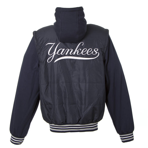 New York Yankees Nylon Vest With Sleeves