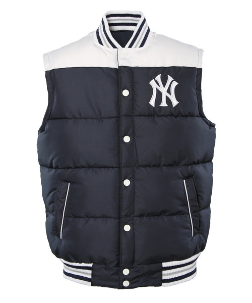 New York Yankees Ripstop Nylon Puffer Vest