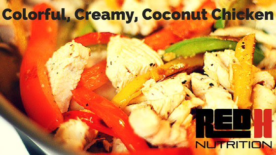 Try This Recipe: Colorful Creamy Coconut Chicken