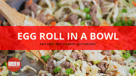 "Try This Recipe: ""Egg Roll In A Bowl"""
