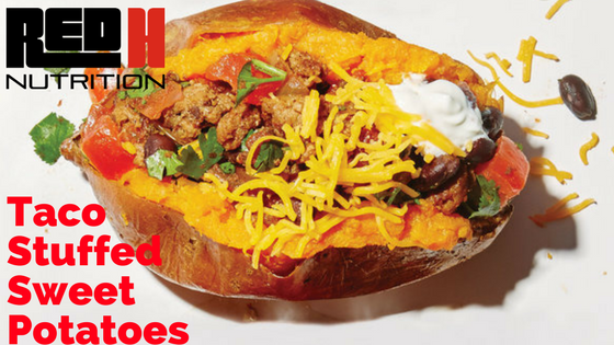 Try This Recipe: Taco Stuffed Sweet Potatoes