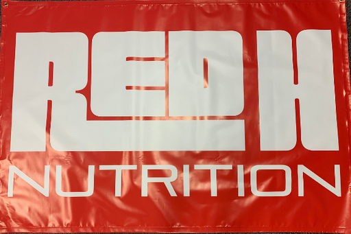 Red H Nutrition® Gym Banner