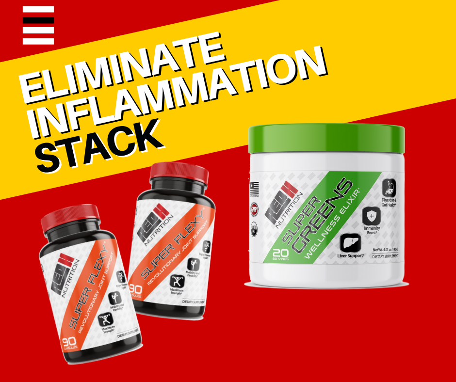 Eliminate Inflammation Supplement Stack