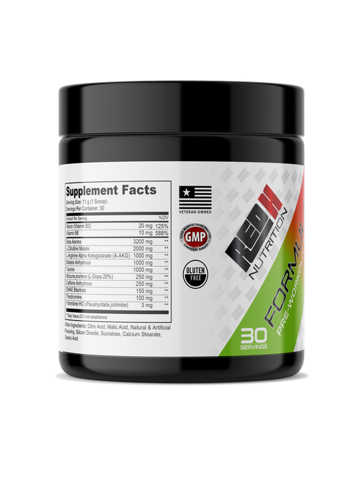FORMULA-H® 3.0 - Pre-Workout Amplifier