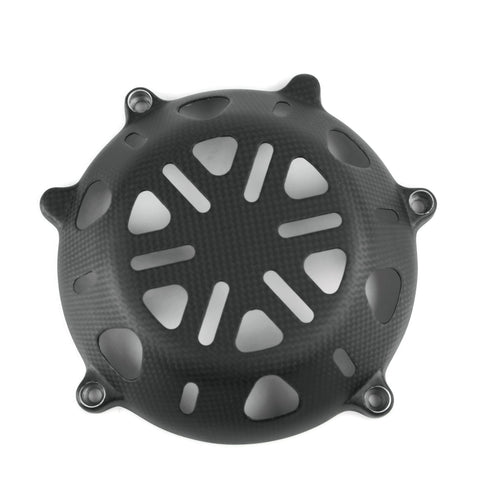 Ducati  Carbon Trocken Kupplungsdeckel Offen Dry Clutch Cover Coupelle d'Embrayage 1