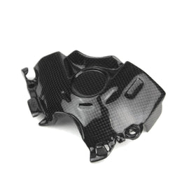Ducati Multistrada Carbon Ritzelabdeckung Front Belt Cover Cache Courroie 1