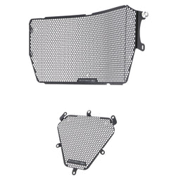 Evotech Ducati Diavel 1260  Kühlerverkleidung Radiator Guard Protection Radiateur 2