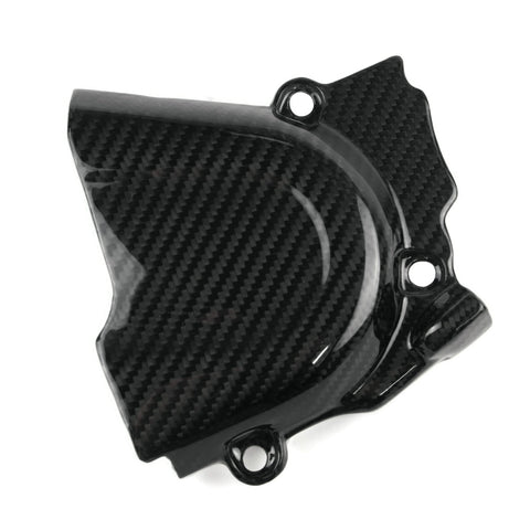 KTM 690 Duke Carbon Ritzelabdeckung Belt Cover Cache Courroie 1