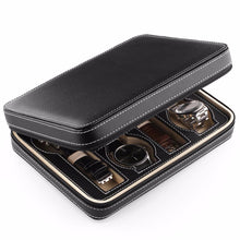Zippered Travel Watch Case, Eight Watches