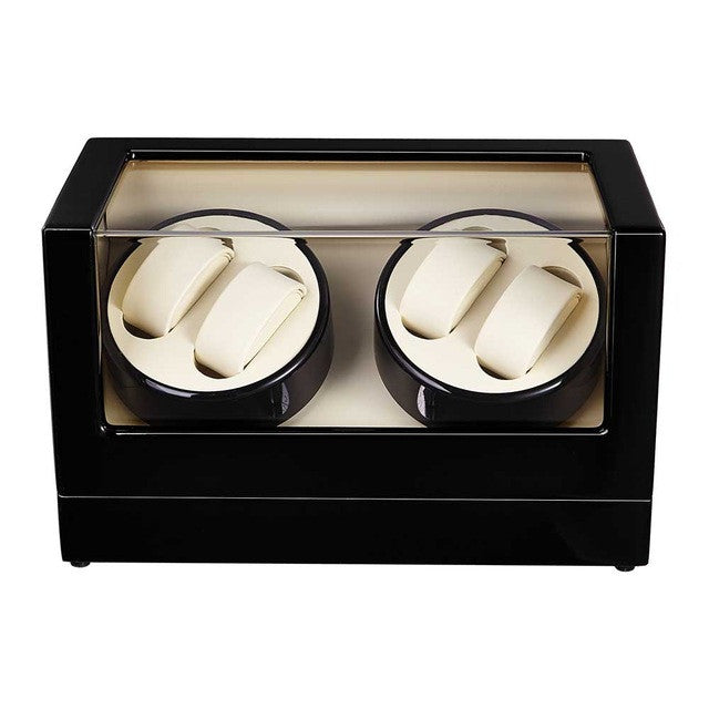 Piano Black, Quad Watch Winder