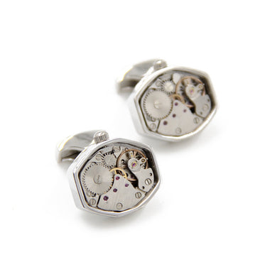 Rhombus, Watch Movement Cufflinks