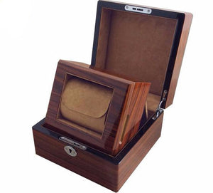 Wooden Locking Luxury Watch Box